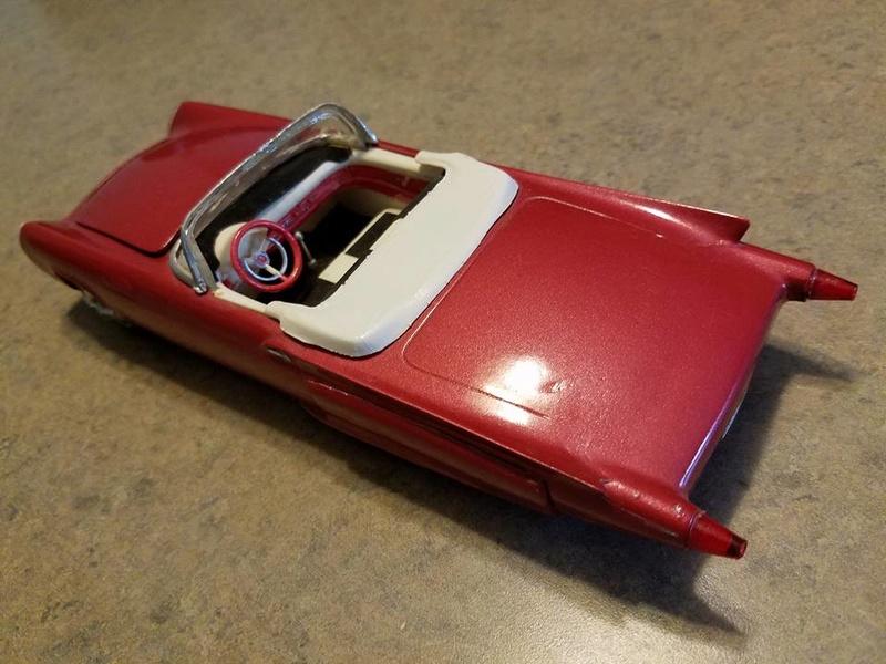 Vintage built automobile model kit survivor - Hot rod et Custom car maquettes montées anciennes - Page 6 13932810
