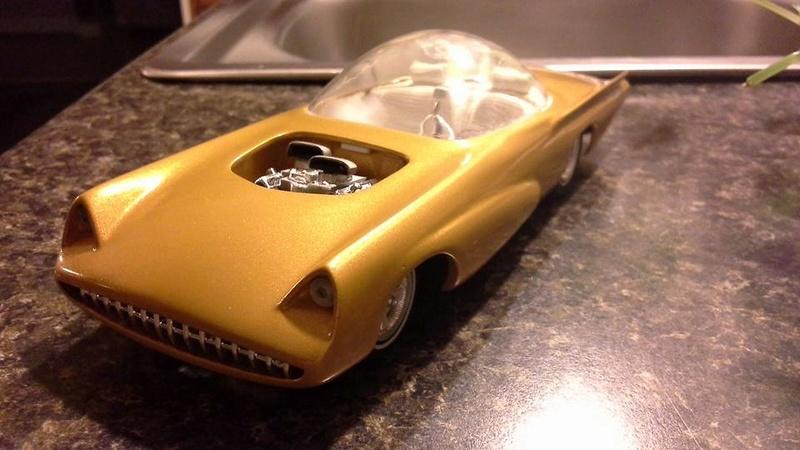 Vintage built automobile model kit survivor - Hot rod et Custom car maquettes montées anciennes - Page 6 13938510