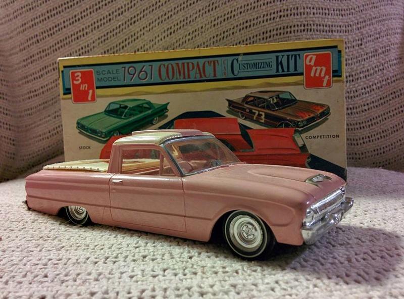 Vintage built automobile model kit survivor - Hot rod et Custom car maquettes montées anciennes - Page 6 13938610