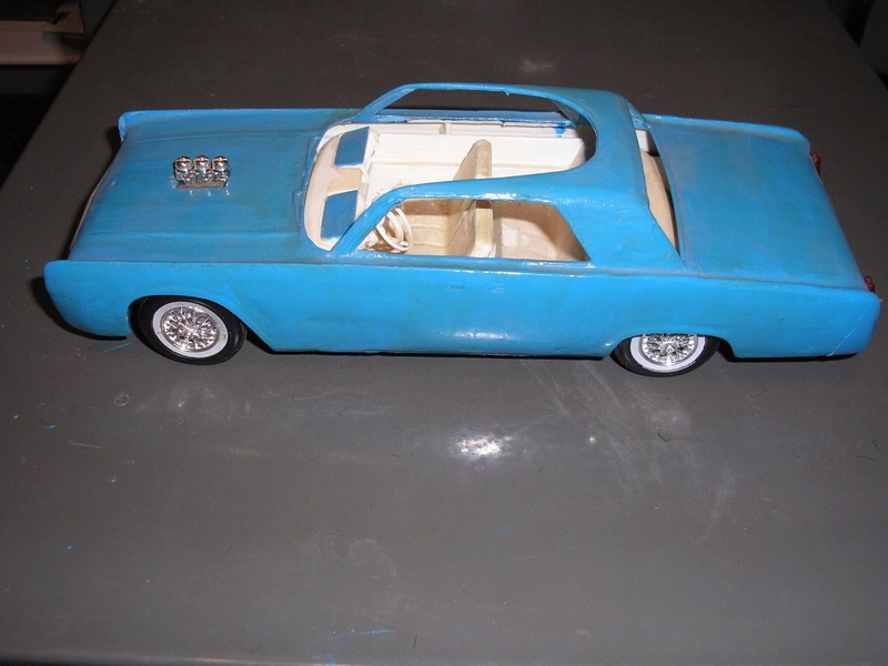 Vintage built automobile model kit survivor - Hot rod et Custom car maquettes montées anciennes - Page 6 141