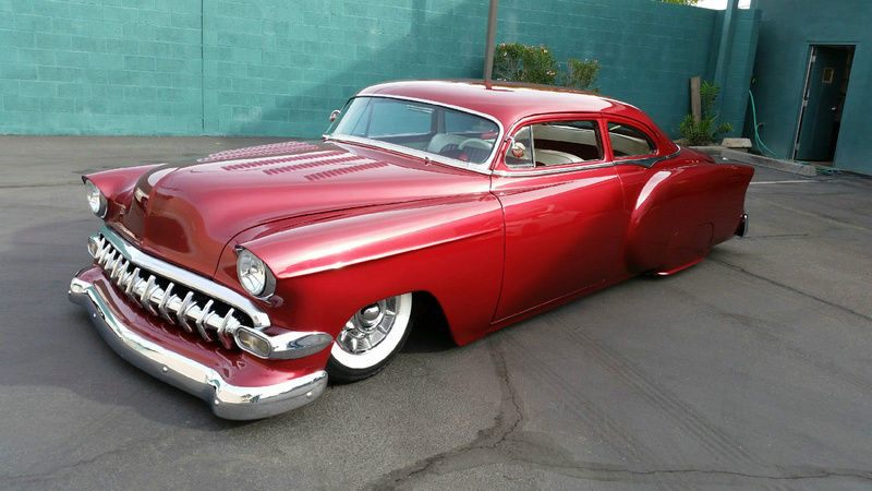 Chevy 1953 - 1954 custom & mild custom galerie - Page 13 442