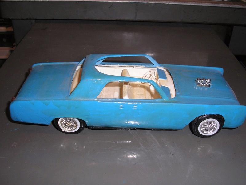Vintage built automobile model kit survivor - Hot rod et Custom car maquettes montées anciennes - Page 6 447