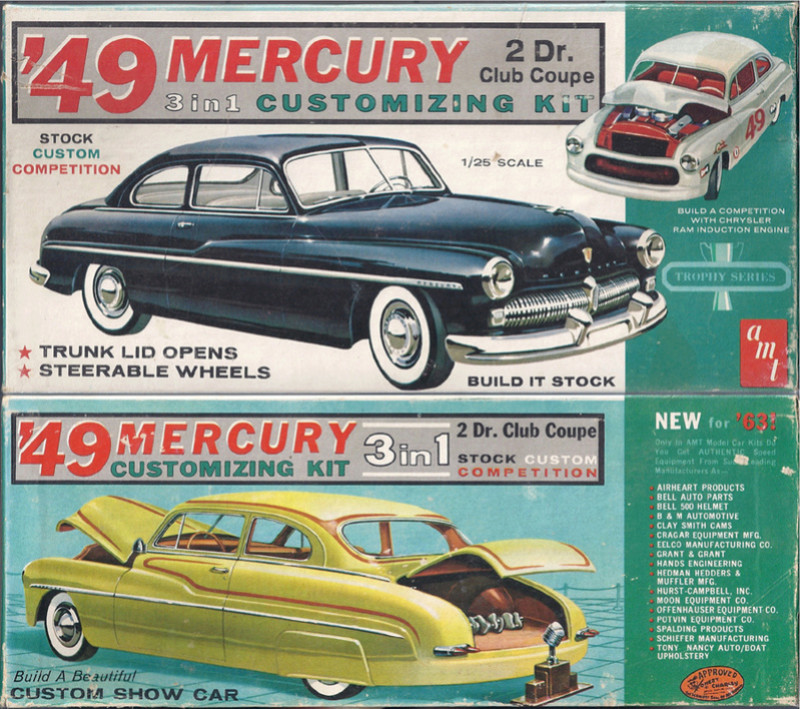1949 Mercury - Customizing Kit - Trophie series - 3 in 1 - Amt Amt_4910