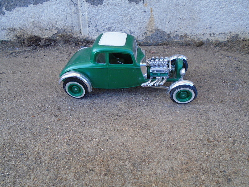 1934 Ford Coupe - Street Rod - Aurora - 1/25 Dsc00533
