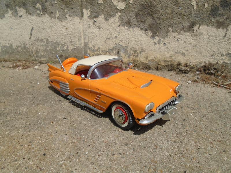 1959 Chevrolet corvette Customizing kit 1/25 scale  Dsc03415
