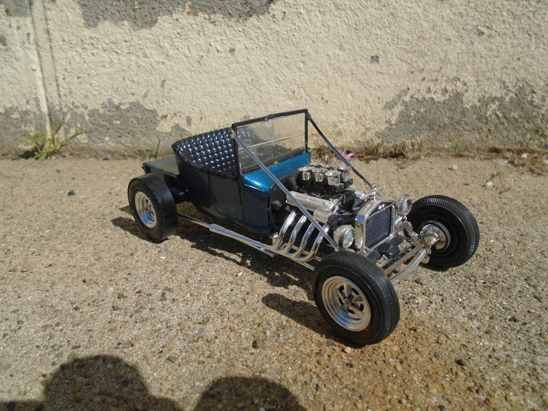 """1925 Ford """"T"""" roadster - amt - customizing kit - Dsc03614"""