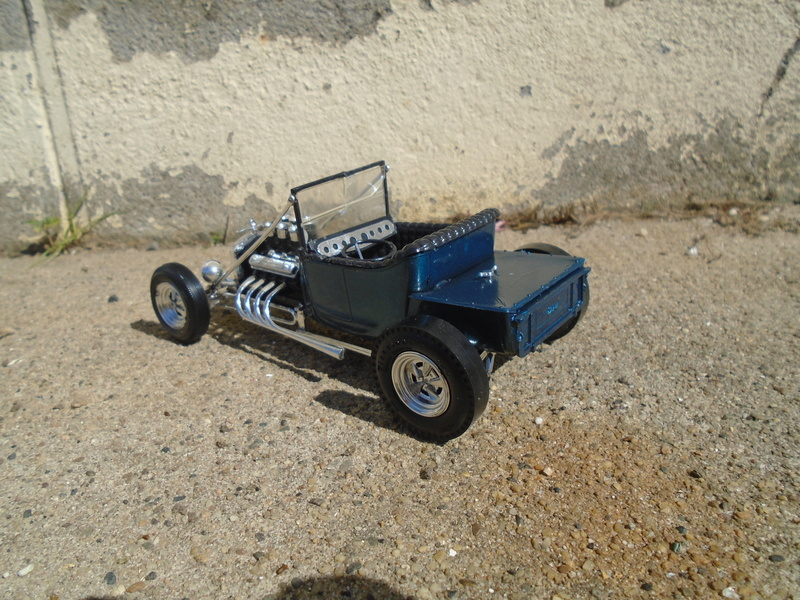 """1925 Ford """"T"""" roadster - amt - customizing kit - Dsc03615"""
