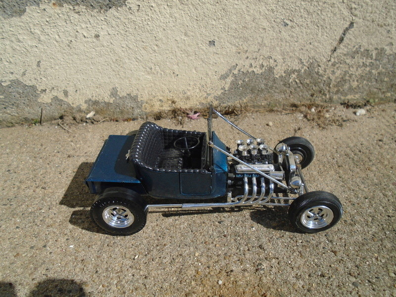 """1925 Ford """"T"""" roadster - amt - customizing kit - Dsc03616"""