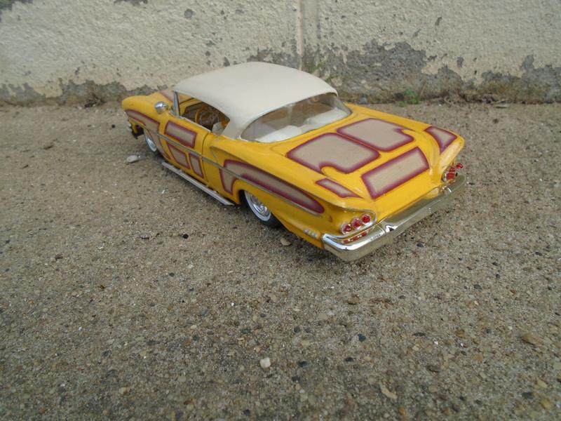 1958 Chevrolet Impala - Customizing kit - Trophie series - Amt - 1/25 scale Dsc03626