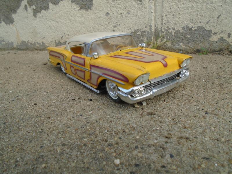 1958 Chevrolet Impala - Customizing kit - Trophie series - Amt - 1/25 scale Dsc03627