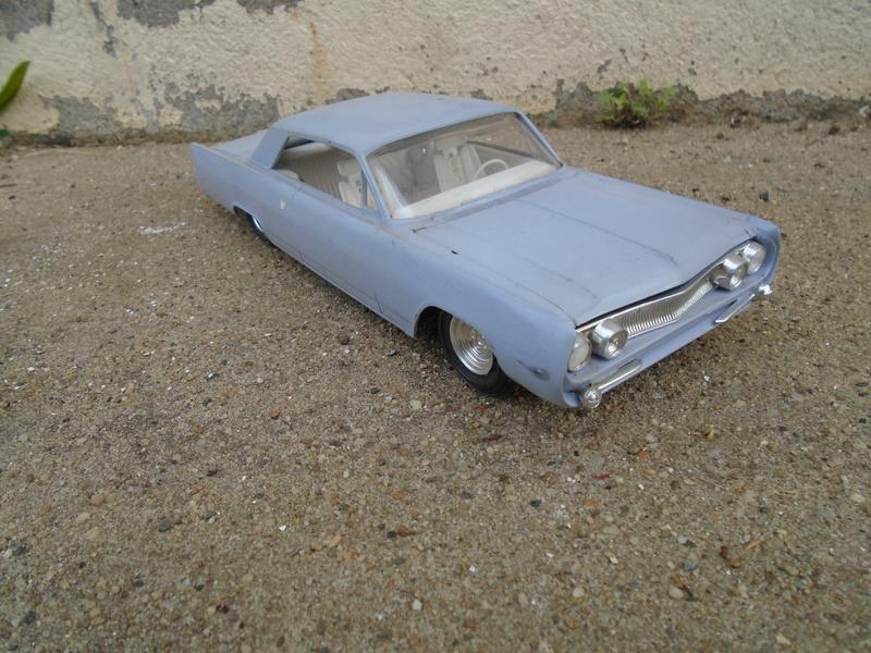1963 Buick Electra coupe - Advanced custom kit - amt - 1/25 Dsc04262