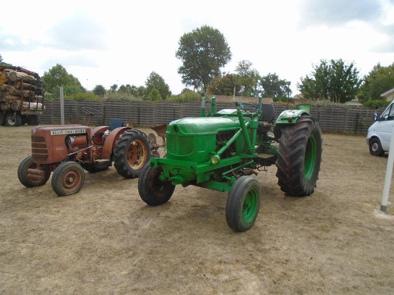 Fête de Roaillan (33) exposition tracteurs et voitures anciennes (Aout 2016) Dsc04614