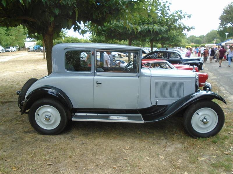 Fête de Roaillan (33) exposition tracteurs et voitures anciennes (Aout 2016) Dsc04630