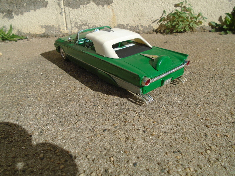 1961 Ford Convertible - Customizing kit - Amt - 1/25 scale Dsc04640