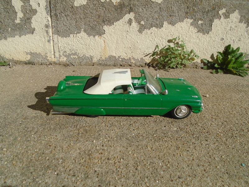 1961 Ford Convertible - Customizing kit - Amt - 1/25 scale Dsc04642