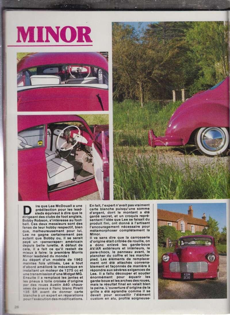 British classic car custom & mild custom - UK - GB - England Minor_10