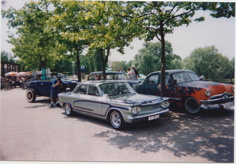 Loud Mufflers traditionnel custom and hot rod show - Vernouillet 2002 Vernou21