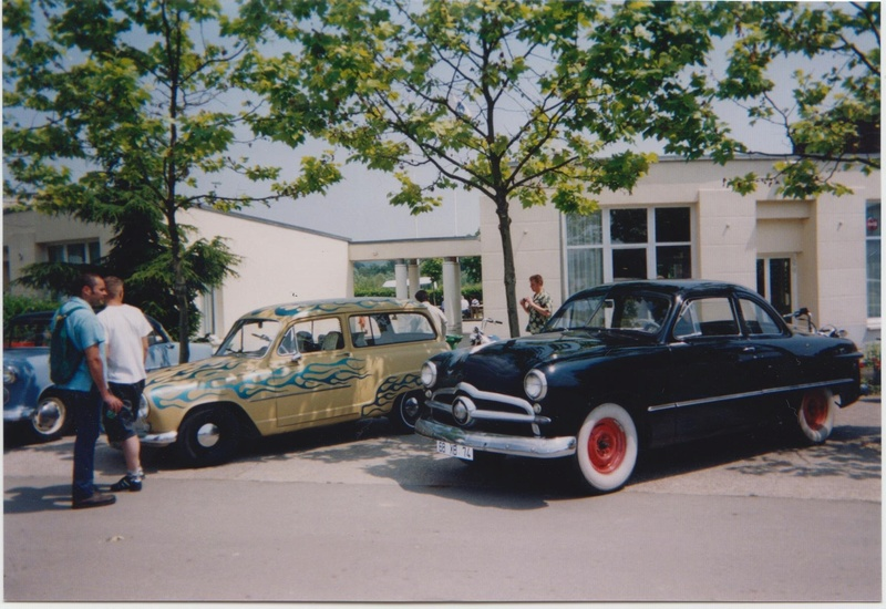 Loud Mufflers traditionnel custom and hot rod show - Vernouillet 2002 Vernou23