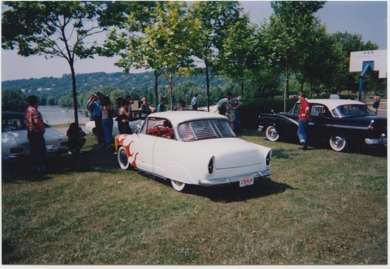 Loud Mufflers traditionnel custom and hot rod show - Vernouillet 2002 Vernou33