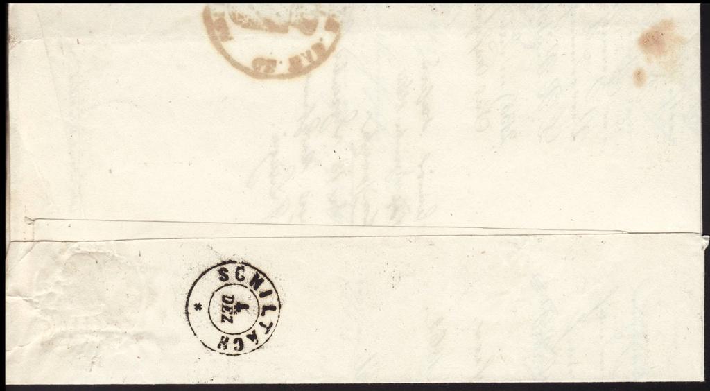 Postgeschichtliche Belege Baden110
