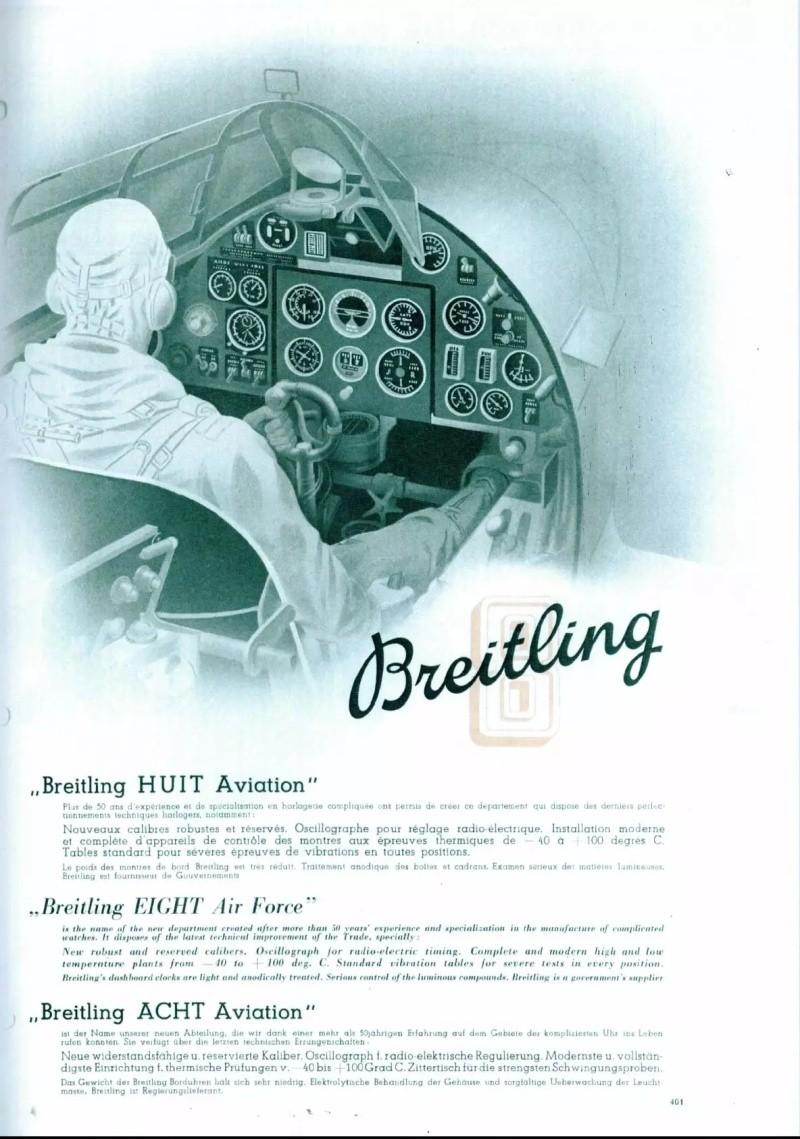 "Breitling et la Navitimer ""pre-806"" Cat_1911"
