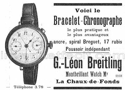 """Breitling et la Navitimer """"pre-806"""" Pub_br10"""