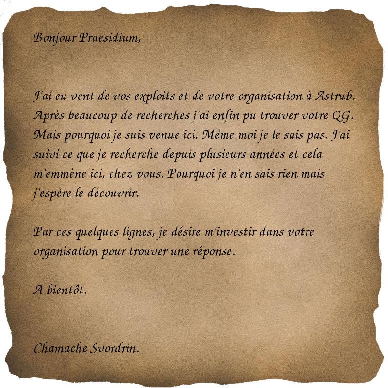 Le Chevalier Rouge. Papier10