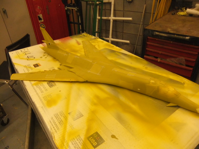 Le ROCKWELL B-1A 'PROTOTYPE ' de REVELL avec quelque modification ! - Page 2 Dscf2933