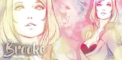 Brooke Williams ▬ Goldie girl with a devilish smile  Sans_t11