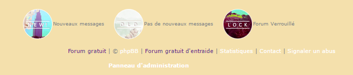 Supprimer la légende des boutons new, old, lock sur vos forums Screen10