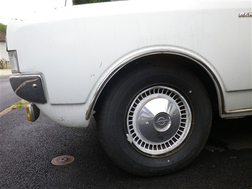 Opel Rekord C 1900 LS de 1970 Sort_d11
