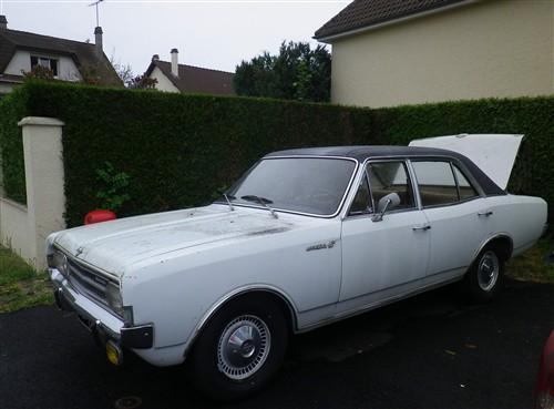 Opel Rekord C 1900 LS de 1970 Sort_d14