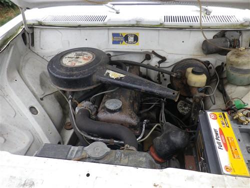 Opel Rekord C 1900 LS de 1970 Sort_d22