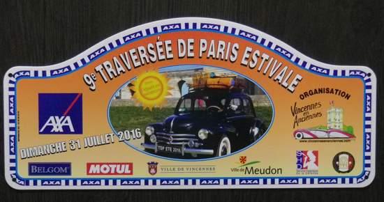 Traversée de Paris estivale 2016 Trpaes77