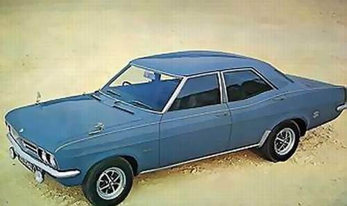 Opel Rekord C 1900 LS de 1970 Vauxha10