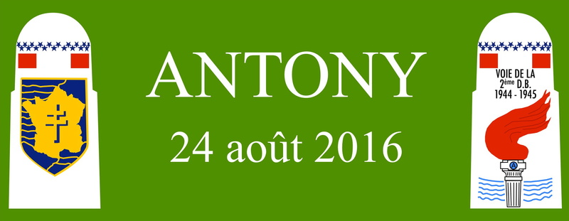 Borne du serment de Koufra: ANTONY (92) Bandea13
