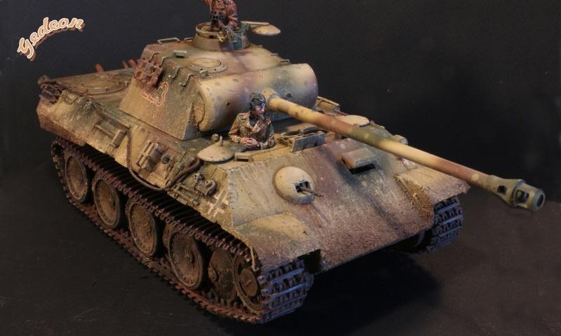 """Gedeon :""""J'ai repris la peinture de mon Panther A"""" TAMIYA - 1/35 Intern12"""