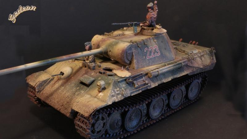 """Gedeon :""""J'ai repris la peinture de mon Panther A"""" TAMIYA - 1/35 Intern13"""