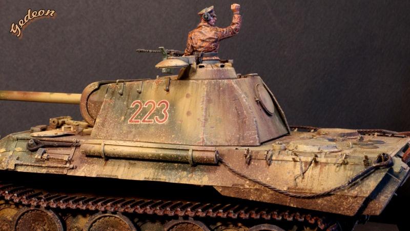 """Gedeon :""""J'ai repris la peinture de mon Panther A"""" TAMIYA - 1/35 Intern22"""
