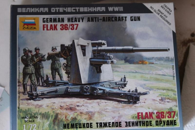 [zvezda] Flak 36/37 Acht-Acht   1/72° Thumb230