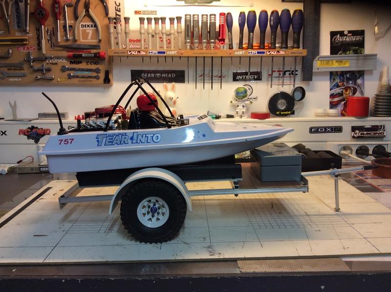 NQD jet boat modifié et transformé Image32