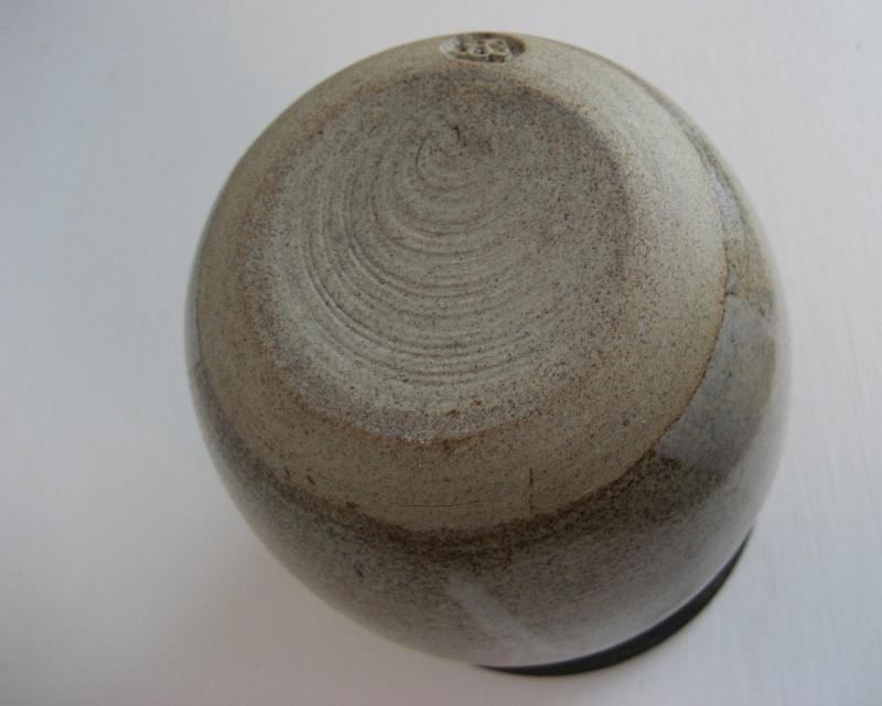 Small Stoneware Vase.  Stamp BS or JBS - John Brooke Steel Img_4126