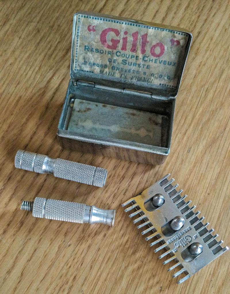 Gilto, le PETIT rasoir rigolo Gilto11