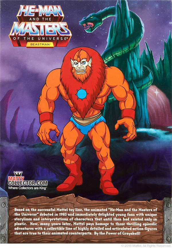 Beast-Man / Beastman (Filmation) - Topic officiel B311