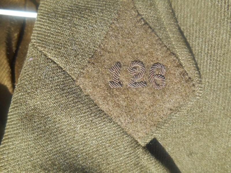 Vareuse officier 126e RI réutilisée période Libé - ESC 2 - VENDUE Dscn9143