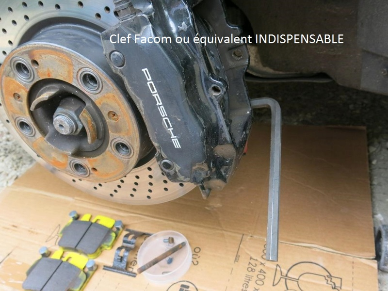remplacement des bras de suspensions + hub/étriers de freins AV 110