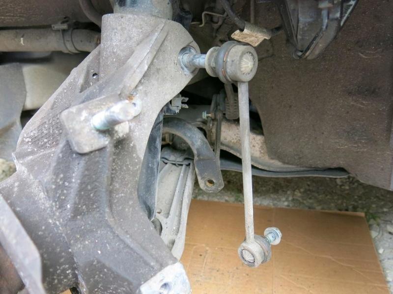 remplacement des bras de suspensions + hub/étriers de freins AV 1110
