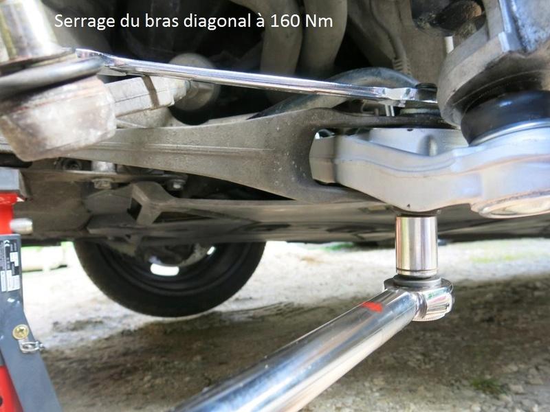 remplacement des bras de suspensions + hub/étriers de freins AV 2410