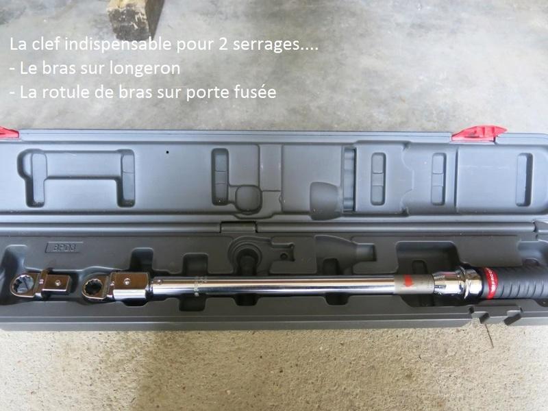 remplacement des bras de suspensions + hub/étriers de freins AV 2810