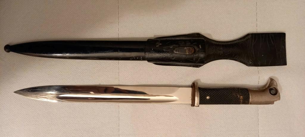 Baïonnette d'apparat allemande 1944  Bayo710
